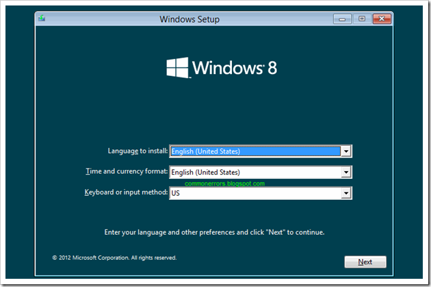 instalare-windows-8